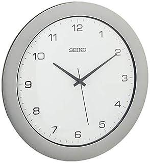 Seiko Wall Clock Silver-Tone Metallic Case (B0027FGBEK) | Amazon price tracker / tracking, Amazon price history charts, Amazon price watches, Amazon price drop alerts