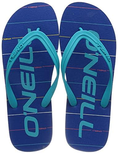 ONeill herr profil grafiska sandaler flip-flop, blå, 43 EU