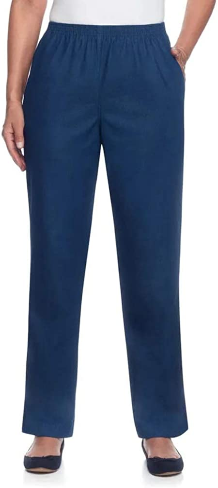 Alfred Dunner Women's Classics Popular brand in the world Pant Short Denim Today's only Proportioned