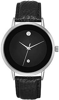 MESTIGE Womens Quartz Watch, Analog Display and Leather Strap MSWA3145