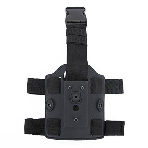 Huenco Tactical Drop Leg Plataforma Tactical Leggings Dispositivo Muslo Pistola Pistola con Pierna Ajustable Doble Correa