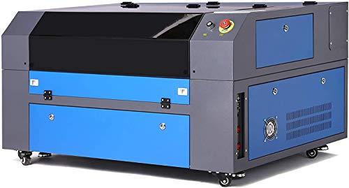 CO-Z 60W Macchina per Incisione Laser CO2 Incisore Laser Stampante Laser Engraver Regolabile con Porta USB Universale Display LCD Punto Rosso RDworks Software (500 X 700MM)