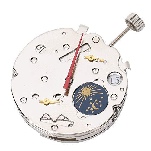 DAUERHAFT Material de Metal y plástico Movimiento de Reloj Movimiento automático Mano de Obra Exquisita Uso confiable Movimiento de Reloj 2869 para Reloj 2869