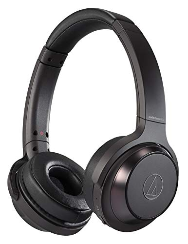 audio-technica SOLID BASS ワイヤレスヘッドホン 重低音 最大70時間再生 ブラック ATH-WS330BT BK
