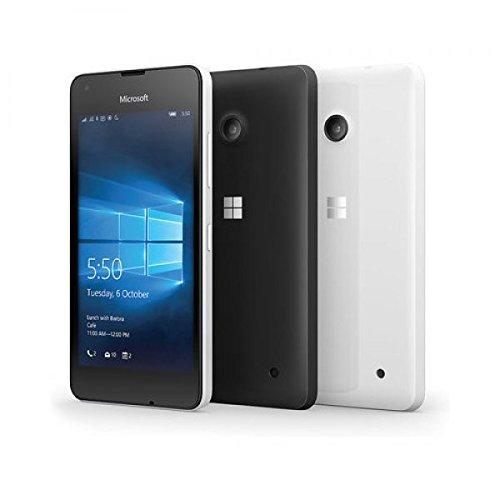 Microsoft Lumia 550 RM-1127 8GB (GSM Only, No CDMA) Factory Unlocked 4G/LTE - International Version with No Warranty (White)