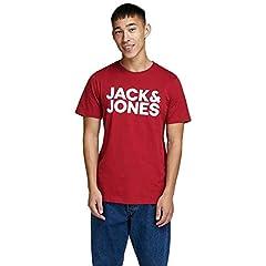JACK & JONES Camiseta Manga Corta Hombre Jjecorp Logo