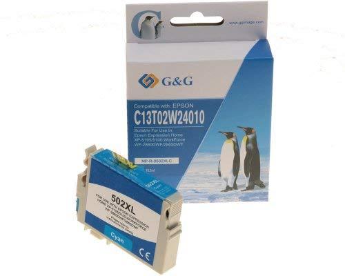 G&G NP-R-0502XLC Cartucho de Tinta Compatible Cian 1 Pieza(s)