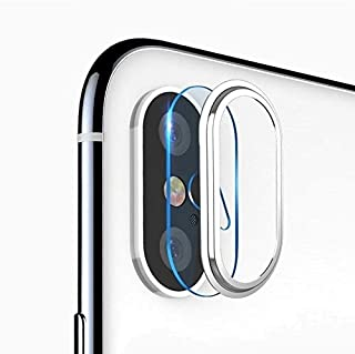 Apple iPhone X Camera Protection Set - Silver