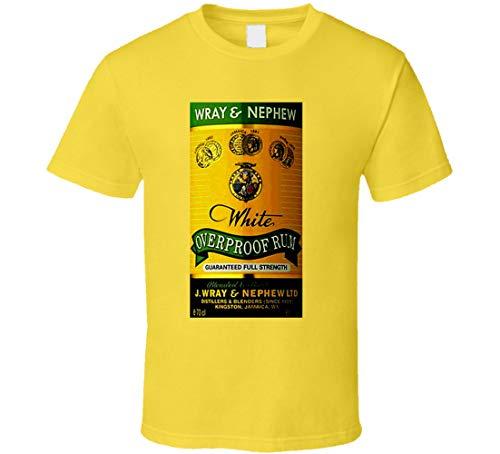 N/Y Camiseta con diseño de ron jamaicano de Wray and Nephew Over Proof