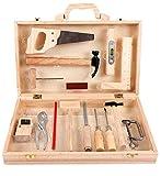 Decaden Werkzeugkoffer Kind,Werkzeugkoffer Werkzeugkasten,16 Pcs Kinder...