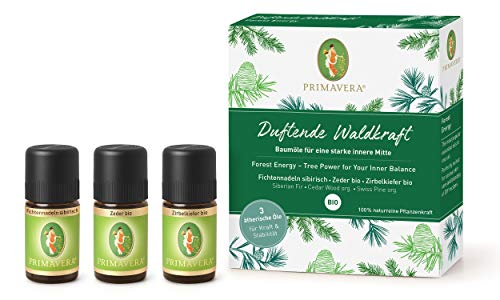 Primavera® - Set Duftende Waldkraft - 3 x 5 ml