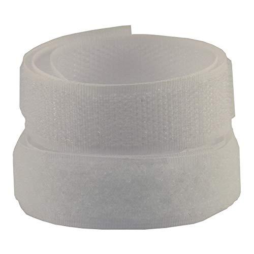 5 m Velcro, Gancio e ratina, Larghezza 20 mm, da Cucire, (1,89 EUR/lfm)