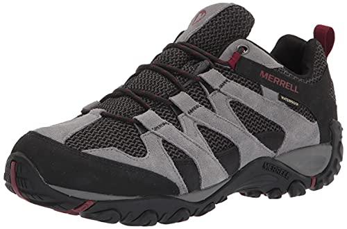 Merrell mens Alverstone Waterproof Hiking Shoe, Castlerock, 11 Wide US