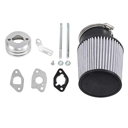 WENYU Inlet Air Filter Kit For Go Karts & Mini Bikes with 212cc, 6.5HP Predator Engine