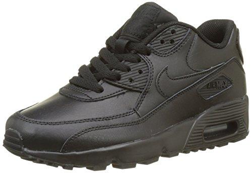 Nike Air MAX 90 LTR (GS), Zapatillas Hombre, Negro (Black/Black 001), 38.5 EU