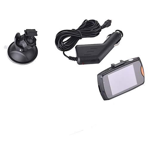Dash-Kamera Dash-Cam Dual-Objektiv Auto-Dvr-Kamera Full Hd1080P Vordere Rückfahrkamera Video-Registrare G-Sensor Nachtsicht 2,4-Zoll-Einzelaufnahme