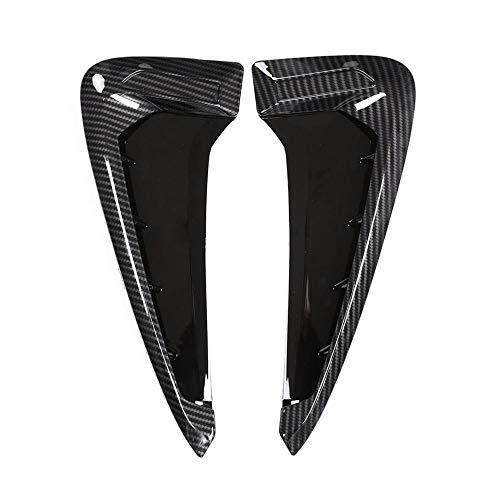 XLTWKK Car Side Fender Vent Decoration 3D Stickers,For BMW Emblem Logo X5 F15 X5M F85 2014 2015 2016 2017 2018
