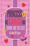 PRINCESS WE LOVE YOU COUPONS BOOK: 45+Full Color love Vouchers+5Blank Fillable coupons.Relationship-memories-interactive-family Gift from Father-mum ... stuffer,Birthday,easter,Valentine Day pink