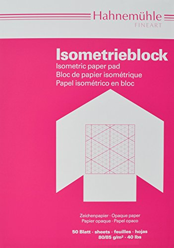 Hahnemühle 10662762 Isometrieblock A3 raut