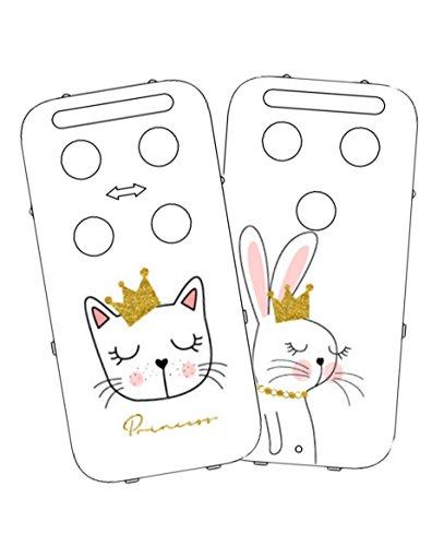 Vital Innovations 328288 _ Princess capidi Cache pour babyphone, blanc