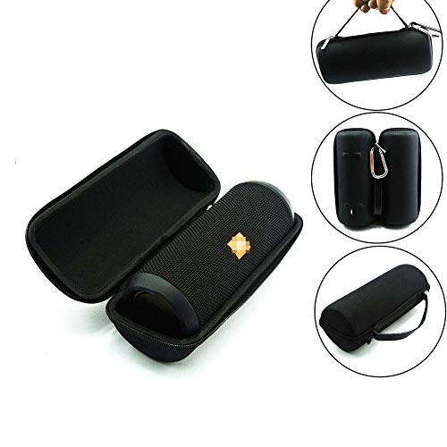 Fablcrew - Funda rígida de EVA para JBL Flip 3 Altavoz Bluetooth portátil Impermeable Negro