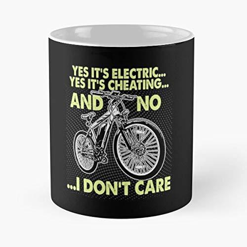 Bike Messenger Roadster Hipster Bicycle BMX Tandem Cycles Mountain Best 11 oz Kaffeebecher - Nespresso Tassen Kaffee Motive
