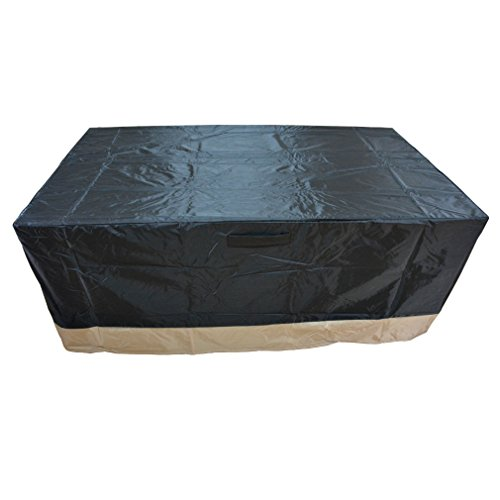 Stanbroil Rectangle Fire Pit/Table Cover, 60' L x 38' W x 24' H