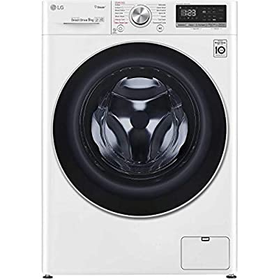 LG F4V509WS 9kg 1400rpm AI DD Freestanding Washing Machine With Steam - White
