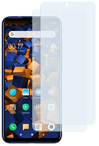 mumbi Schutzfolie kompatibel mit Xiaomi Redmi Note 7 Folie klar, Bildschirmschutzfolie (2X)