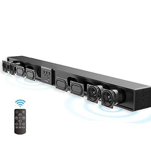 GaoF Barra de Sonido para PC, Barra de Sonido Inteligente, Audio, Sala de Estar, Colgante de Pared, Barra Bluetooth inalámbrica para el hogar, Echo, Altavoz de Pared para