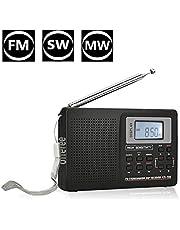 offeree 充電式ラジオ FM/SW/MW 多帯域 ラジオ DSP技術 液晶デジタル 3つ検索方法 スピーカー付き 大音量 スタンド付き 操作簡単 携帯便利 高感度 ステレオラジオ