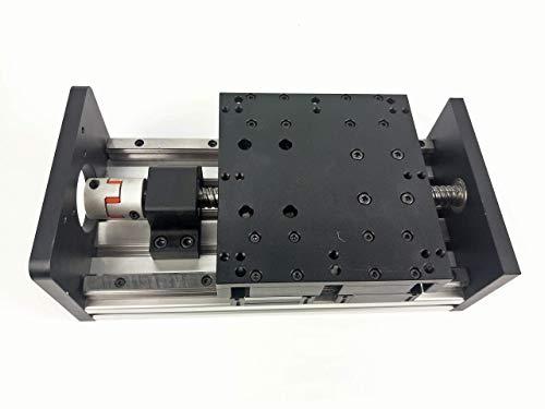 Antrella 350mm de Longueur de Course Schiebetisch SFU1610 RM1610 Vis à billes Module de glissière de guidage à rail double,Moteur de Stepper 86, NEMA 34 pour imprimante CNC et 3D, fraiseuse