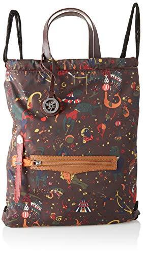 piero guidi Backpack, Zaino Donna, Marrone (Cioccolato), 43.0x33.0x2.0 cm (W x H x L)