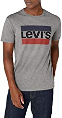 Levi's Sportswear Logo Graphic - Camiseta para Hombre Gris Manga Corta