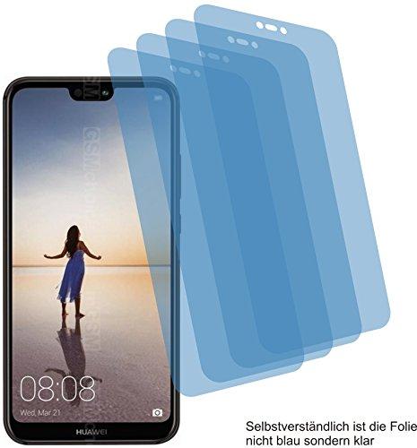 4ProTec I 4X ANTIREFLEX matt Schutzfolie für Huawei P20 Lite Bildschirmschutzfolie Displayschutzfolie Schutzhülle Bildschirmschutz Bildschirmfolie Folie