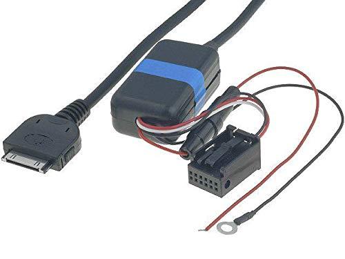 Cable Adaptateur AUX iPod iPhone compatible avec BMW 3 5 X3 X5 sans navigation