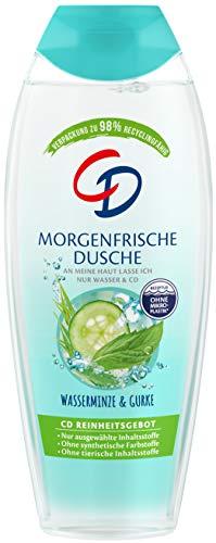 CD Dusche 'Morgenfrische', 250 ml, Duschgel mit Pflanzenextrakten, Pflegeprodukt mit belebendem Duft, Showergel für empfindliche Haut, ohne Mikroplastik, vegan