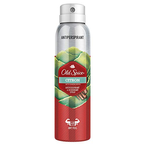 Old Spice Citron Spray Antitranspirante...