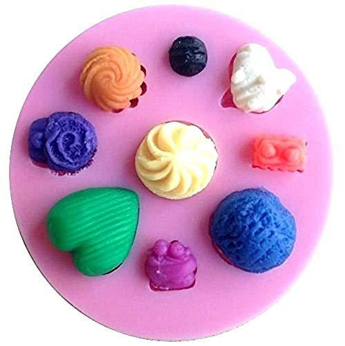 Siliconen mal voor ambachtelijk gebruik van zoete snoepjes ook in de vorm van een hart