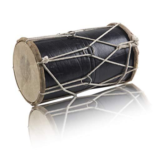 Handmade Wooden & Leather Classical Indian Folk Tabla Drum Set Hand Percussion Drums World Musical Instruments Punjabi Dhol Dholak Dholki Fun Birthday Housewarming Gift Ideas