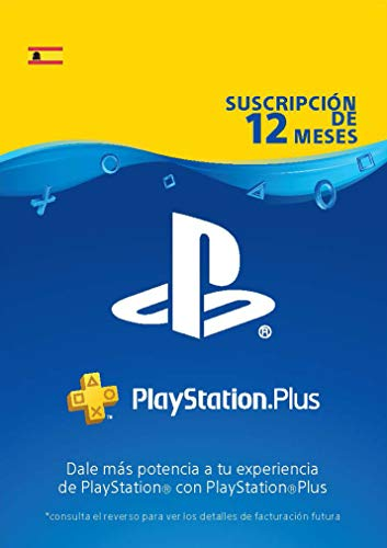 Sony, PlayStation Plus - Suscripción 12 Meses | PS5/PS4/PS3 | Código de descarga PSN -...