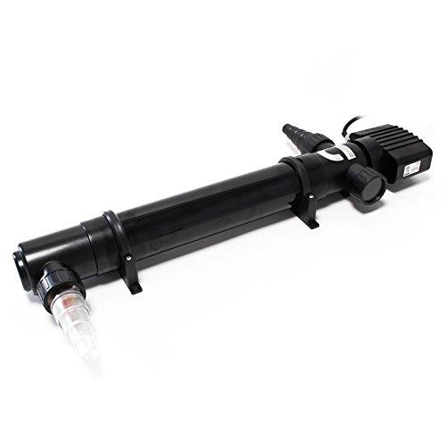 SunSun CUV-155 clarificador Agua estanques Filtro luz lámpara UV aclarador 55W jardín...