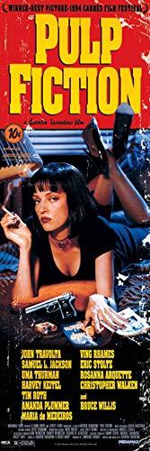 Pulp Fiction (Cover) 53 x 158 cm Poster de Porte