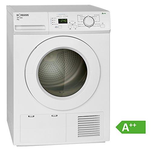 Bomann WPT 5021 Wärmepumpentrockner/ A++/ 8 kg