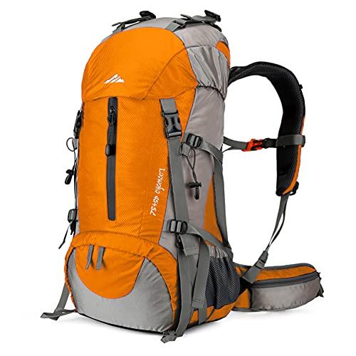 Loowoko Hiking Backpack 50L Travel Daypack...