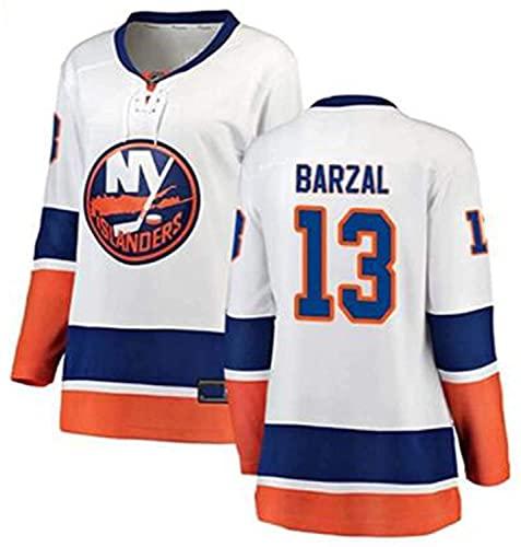 XIKADAN NHL Jersey New York Islanders 22#91# Blau Herren Sweatshirts Atmungsaktiv Langarm T-Shirt Film Version Eishockey Trikot (S-XXXL), B, L