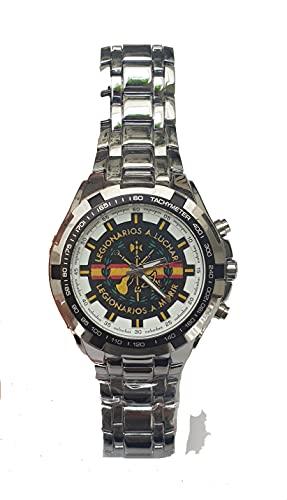 Legion Española, Reloj Pulsera Legion Española, Reloj Personalizado Elegante Exclusivo y con Aspecto Militar. Incluye Caja de Regalo.