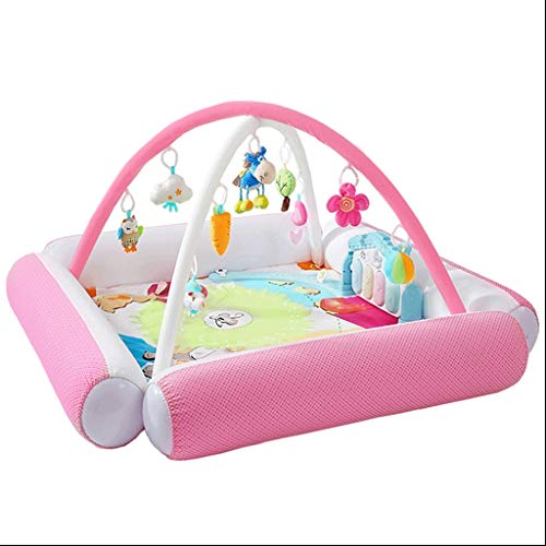 Best Bargain VAIY Activity Gym Play Mat Baby Play Gym, Kick and Play Piano Gym, New-Born Baby Play M...