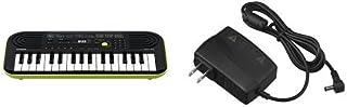 CASIO(カシオ) 32ミニ鍵盤 電子キーボード SA-46 [ミニキーボード]+ 純正 ACアダプター AD-E95100LJ [電子キーボード対応]