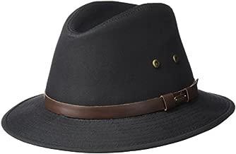 Stetson Men's Gable Rain Safari Hat, black, Large